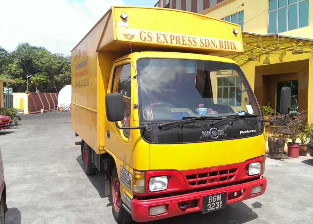 1 Ton Box Truck