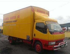3 Tons Box Truck