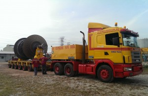 8.95M(L) X 4.1M(W) X 3.95M(H) - 55 Tons