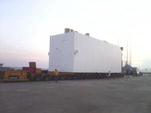 19.5M(L) X 6.6M(W) X 7.7M(H) - 230 Tons